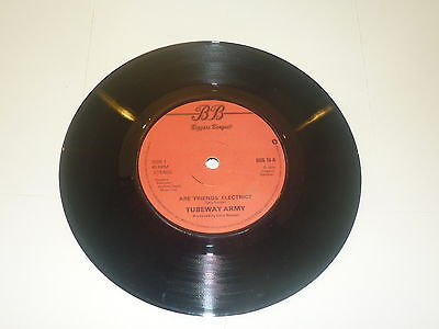 """TUBEWAY ARMY - Are Friend's Electric? - Deleted 1979 UK 7"""" vinyl single"""
