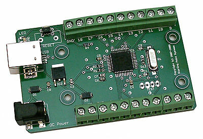 Usb Io Data Acquisition Daq 12bit Adc Pwm Dac Spi Uart Timers Virtual Com Port