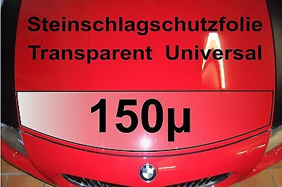 Lackschutzfolie universal  transparent 150µ 150cm x 30cm