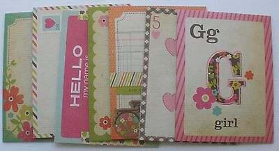 FABULOUS - Simple Stories Journal Cards:  Pictures &  Title Chipboard - Simple Chipboard Kit