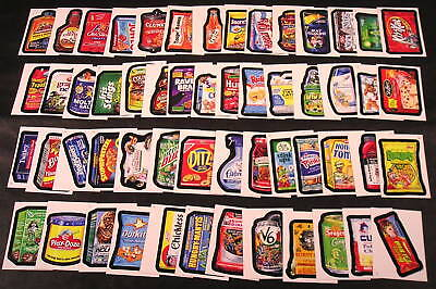 2010 Topps Wacky Packages ANS7 Series 7 COMPLETE BASE SET of 55 stickers nm+ for sale  Shipping to Canada