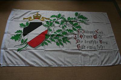 Fahne Flagge Kaiserreich  DEUTSCHE TREU  150 x 90