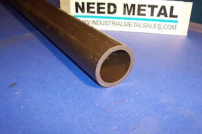 Dom Steel Round Tube Seamless 2 12 Od X 12-long X 14wall-dom 2.5 Od X.250