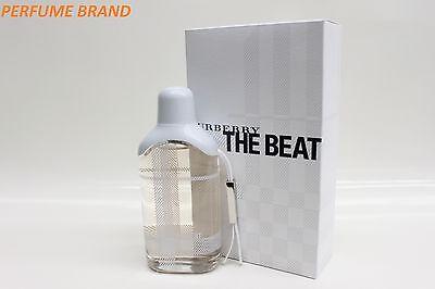 Burberry The Beat 2.5 oz 75ml Spray EDT Women's Eau de Toilette EDT  Beat 2.5 Ounce Spray