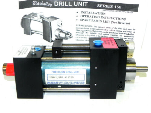 NEW BACKALLOY PRECISION DRILL UNIT 150-1.5TP A11350