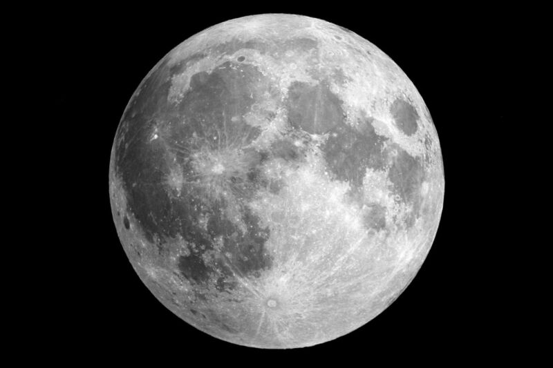 Full Moon NASA Outer Space Astronomy Solar System 11 x 17 Poster Photo Picture