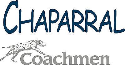 Coachmen Chaparral RV decal decals camper rv 5th wheel coachmen