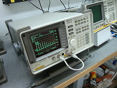Hp Agilent 8594e Spectrum Analyzer Calibrated Refurbished Opt 4 21