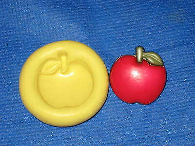- Apple Silicone Mold #287 for Resin Clay Candy Chocolate Card Craft fimo