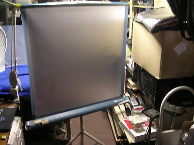 Vintage Radiant Projector Screen 42 Wide Screen