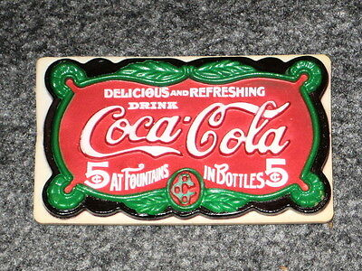 Coca Cola 1995 Magnet Retro Adverstisment Delicious & Refreshing