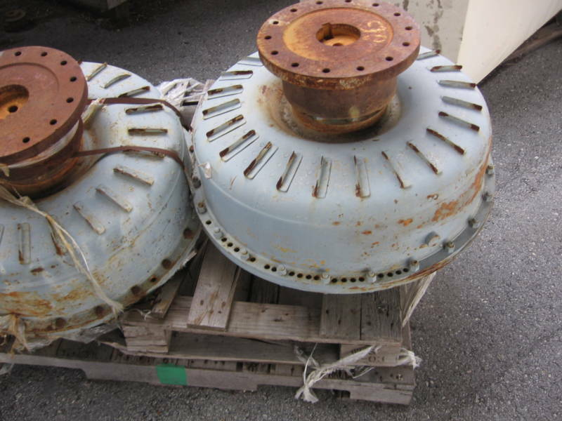 Large Fluid Couplings 300-400 Hp