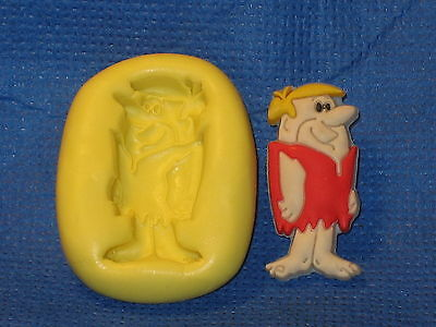 Stone Aged Character Silicone Push Mold 465 For Chocolate Cake Topper  Fondant -