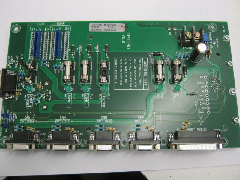 Assorted Factory Refurbished Tecan Genesis Spare Parts Cu, Optibo, Dc Servo Pcbs