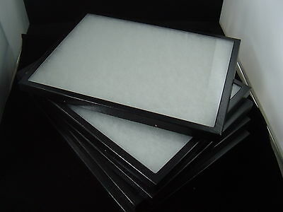 Six Jewelry Display Case Riker Mount Display Box Shadow Box Collection 8x14 X 1