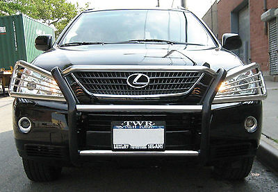 Full Grill Guard (1 Piece Full Grille Guard Front Bumper Protector Fits for Lexus RX350 2010-2015 )