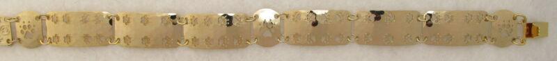 Paw Print Jewelry Gold Breeder Bracelet by Touchstone