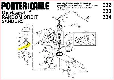 2 BELTS for Porter Cable  Random Orbit Sander, No.  903373