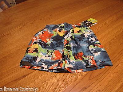 Mick and Mack Ltd Badehose Shorts 24 M MO Baby Junge Neu Blau Orange Upf 50 +