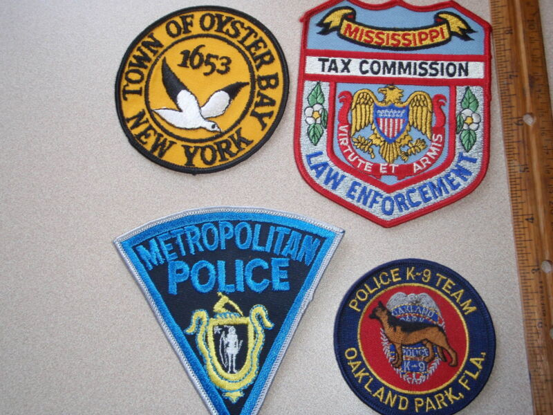 MISSISSIPPI TAX COMMISSION LAW ENFORCEMENT ONE PATCH AUCTION  BXP 69