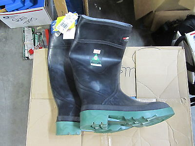 BAFFIN Waterproof Steel Toe Safety Rubber Boots Size 6 made in CANADA