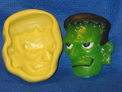 Frankenstein Halloween Push Mold Flexible Clay Candy Food Safe Silicone  #429](Good Halloween Food)