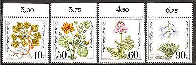 BRD 1981 Mi. Nr. 1108-1111 Oberrand Postfrisch LUXUS! (4541)