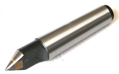 New Mt2 Precision Carbide Half Notched Dead Center Morse Taper 2 Lathe Center