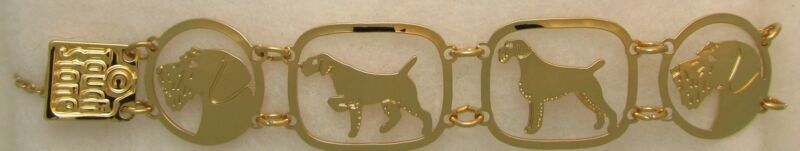 German Wirehaired Pointer Jewelry Bracelet by Touchstone