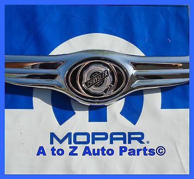 05 06 07 Chrysler 300 Nameplate Emblem Wings Mopar Trunk Badge C Touring OEM