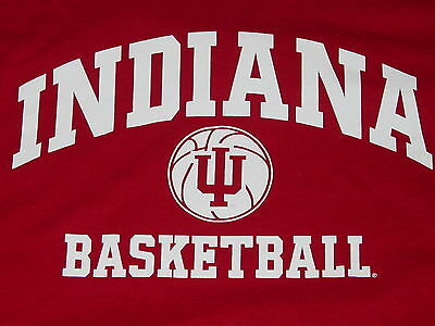 IU NCAA INDIANA University  HOOSIERS  BASKETBALL  T-Shirt NEW  sz.. XLarge   XL