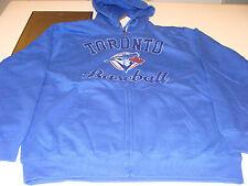 2012 Toronto Blue Jays MLB Baseball XXL Full Zip Bound Glory Hoodie Sweatshirt