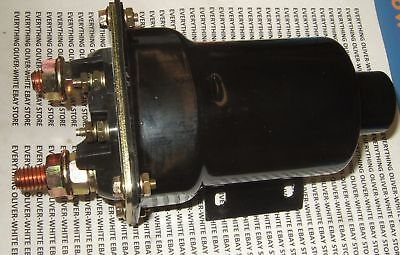 Delco-remy Large Starter Solenoid Oliver White Tractor 2-135 2-180 2255 3208 Cat