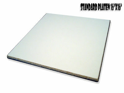 16x16 Sq. Screen Printing Platen Pallet Standard Adult Kit - 4 Platens