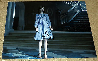 Bella Heathcote Signed 11X14 Dark Shadows Victoria Character Name Exact Proof