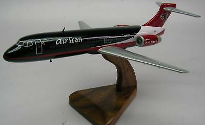 B-717 Atlanta Falcons B717 Airplane Wood Model Free Shipping for sale  Shipping to Canada