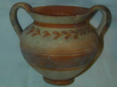 ANCIENT GREEK CANOSAN KANTHAROS 4th CENTURY BC