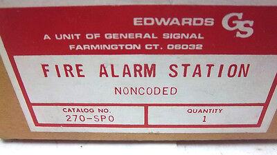 Edwards Fire Alarm Station Noncoded 270-spo New 270spo