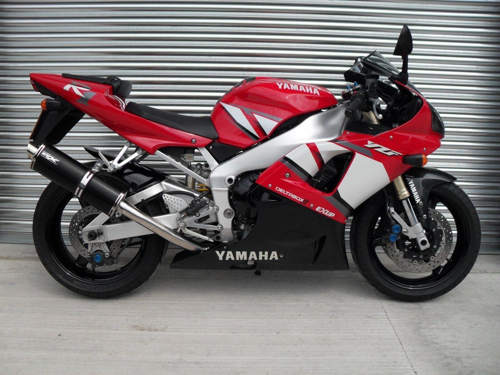 Yamaha YZF R1 98-01 GP Coloured Titanium Race Exhaust