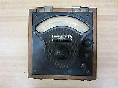 General Electric 3571174 Antique Amp Meter Vintage Industrial 39077