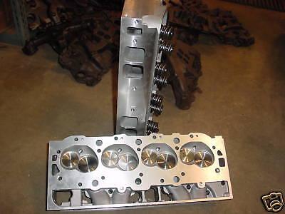 Chevy 396 427 454 496 502 BBC Aluminum Heads  oval port chevrolet 540 572 new