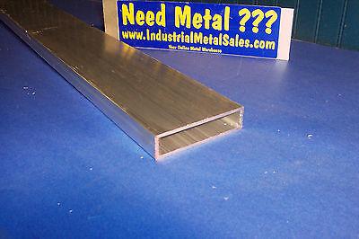 6063 Aluminum Rectangle Tube 1 X 4 X 12 X 18 Wall--1 X 4 X .125 Wall
