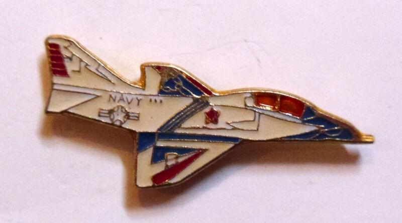 New McDonald Douglas TA4J Skyhawk US Navy Strike Fighter Plane Hat Lapel Pin