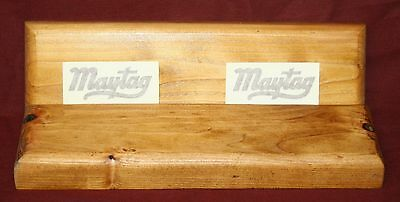 Maytag Model 92 72 82 Gas Engine Motor Wood Skids Frame Decal Frame