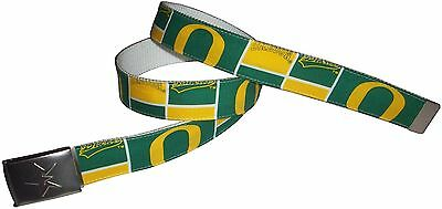 University of Oregon Ducks BELT NCAA Fan Gear Game Alumni Logo Team College - Oregon Duck Shop