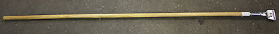 60 Wooden Replacement Handle For Mops Equipment Industrial Commercial Sweep