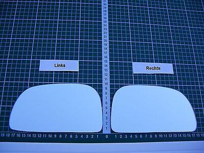 Außenspiegel Spiegelglas Ersatzglas Mitsubishi Eclipse ab 1995-2000 L oder R sph