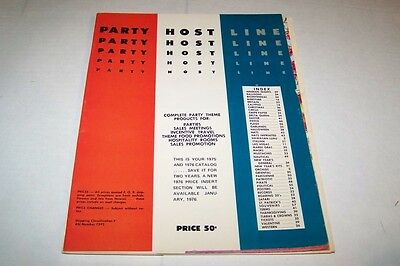Vintage Catalog #434 - 1975 PARADISE PRODUCTS party hat supplies catalog](Party Supplies Catalog)