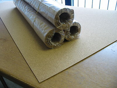 Size 297mm X 210mm Brand New Pack Of 10 X A4 Cork Sheets 2mm Thick Approx
