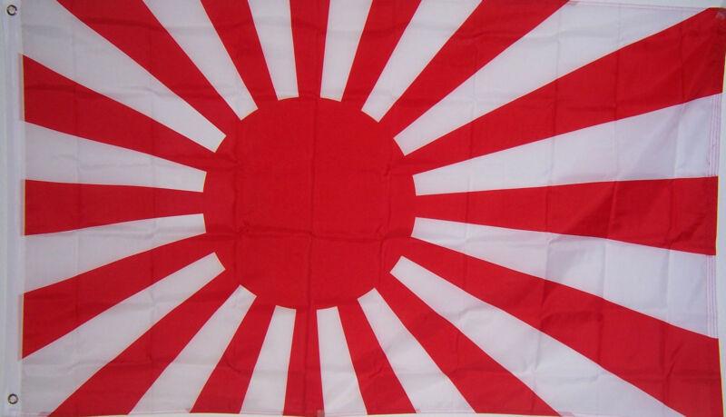 NEW 3x5ft RISING SUN JAPAN JAPANESE better quality FLAG USA seller